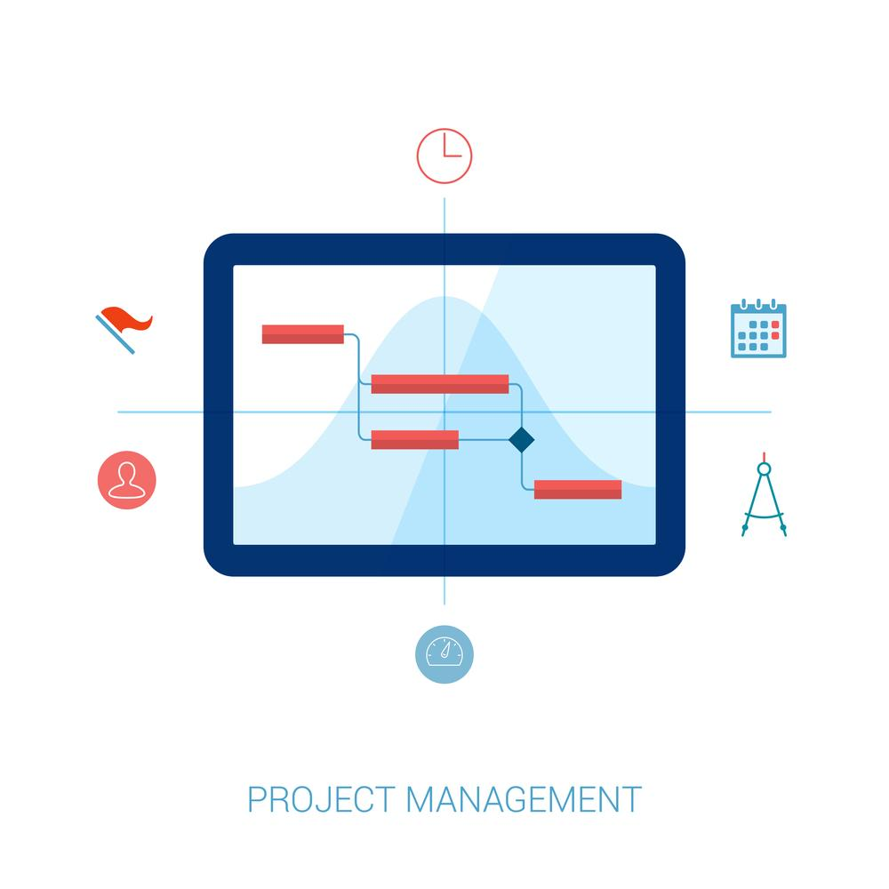 Gantt chart creator strategies and basics gantt chart creator on a tablet nvjuhfo Choice Image